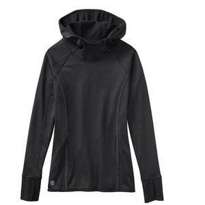NWT Athleta Plush Tech hoodie, xs. Black.